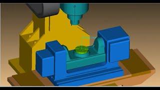 Vericut tutorial Builder 5 axis machining ( Catia input file ) step 1