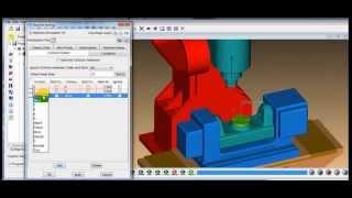 Vericut tutorial Builder 5 axis machining ( Catia input file ) step 3